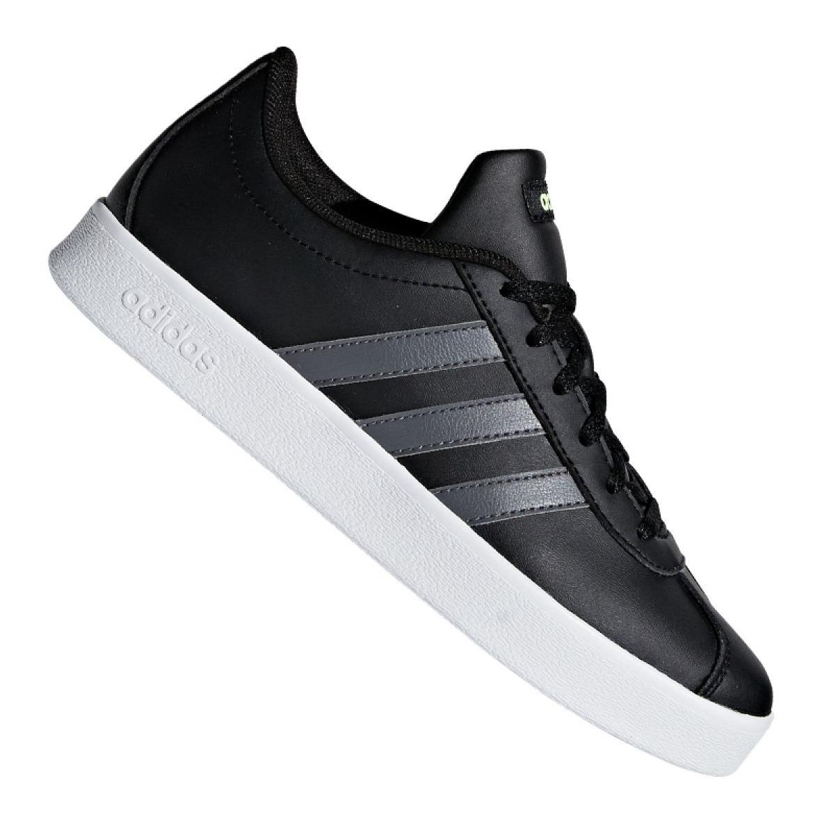 Buty adidas Vl Court 2.0 Jr F36381 czarne