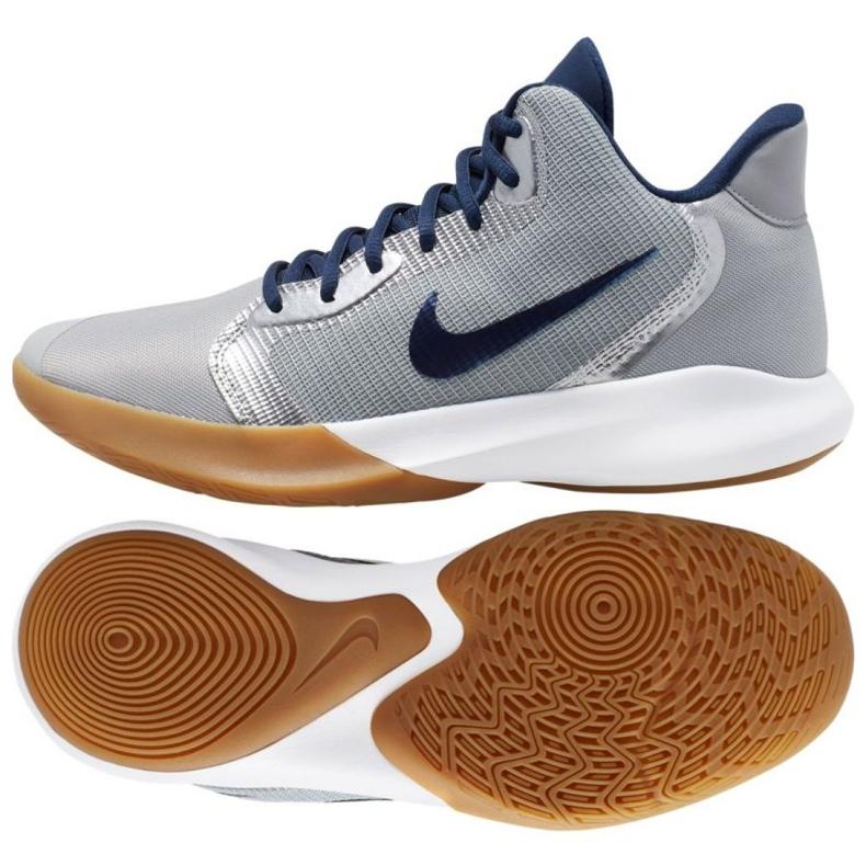 Buty Nike Precision Iii M AQ7495-008 szare szare