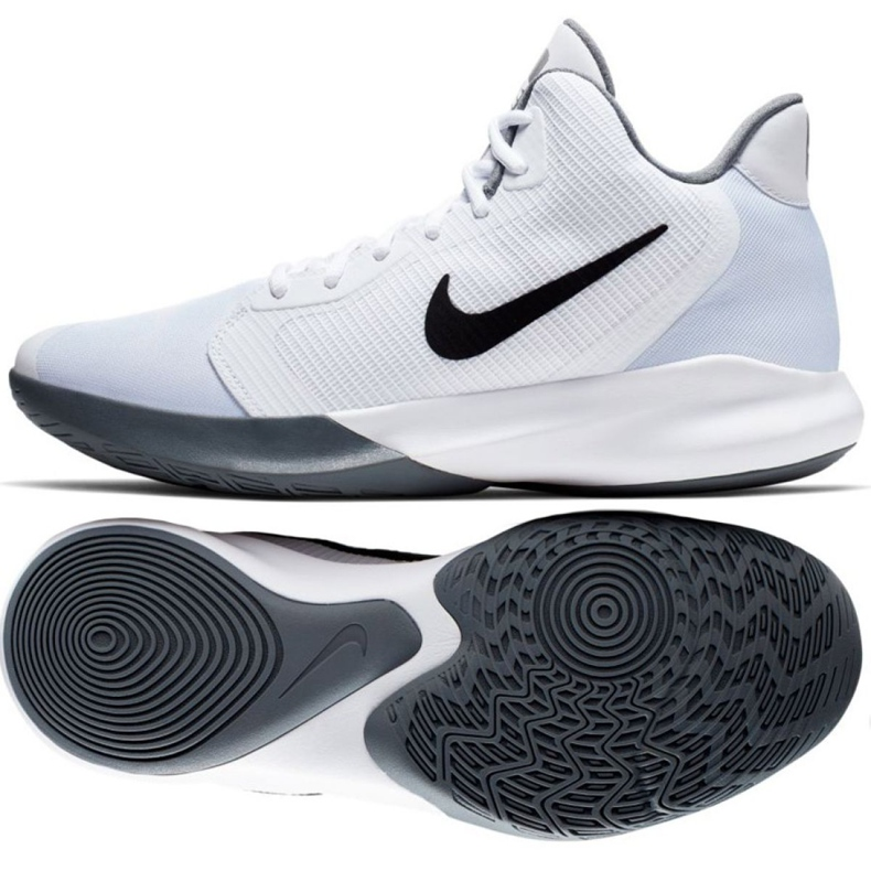 Buty Nike Precision Iii M AQ7495-100 białe białe