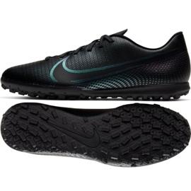 Buty piłkarskie Nike Mercurial Vapor 13 Club Tf M AT7999-010 czarne wielokolorowe