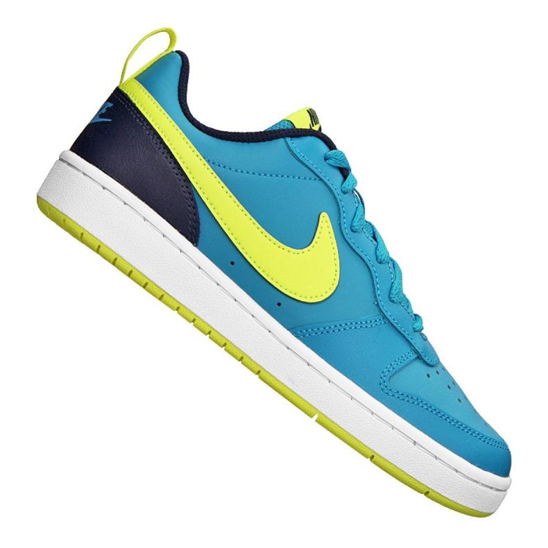 Buty Nike Court Borough Low 2 Jr BQ5448-400 niebieskie
