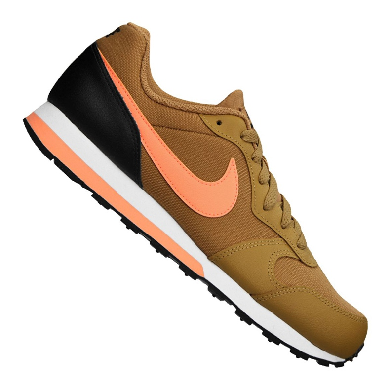 Buty Nike Md Runner 2 Gs Jr 807316-700 brązowe