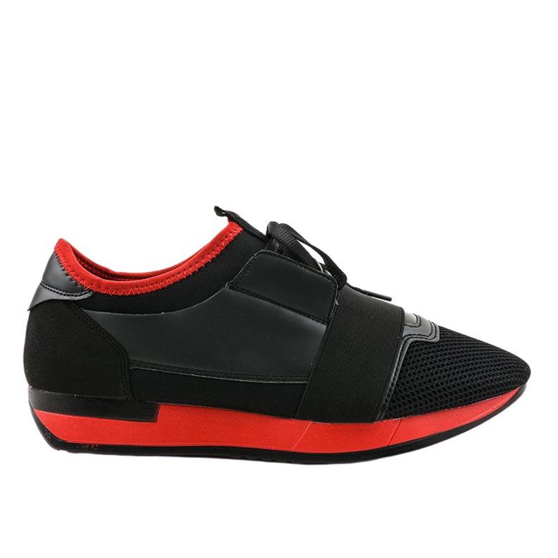 Czarne obuwie sportowe męskie B18-101