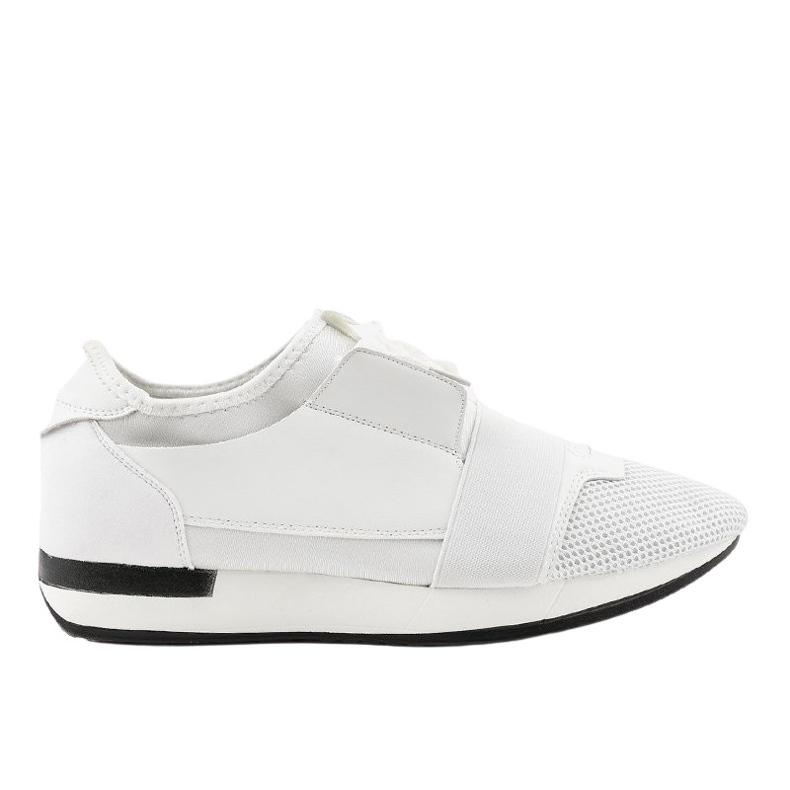 Białe obuwie sportowe męskie B18-101