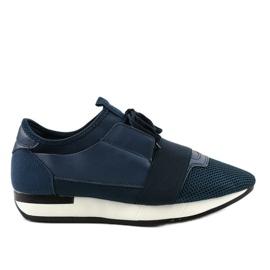 Granatowe obuwie sportowe męskie B18-101