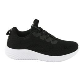 Lekkie buty sportowe siatka Atletico 1858073 czarne