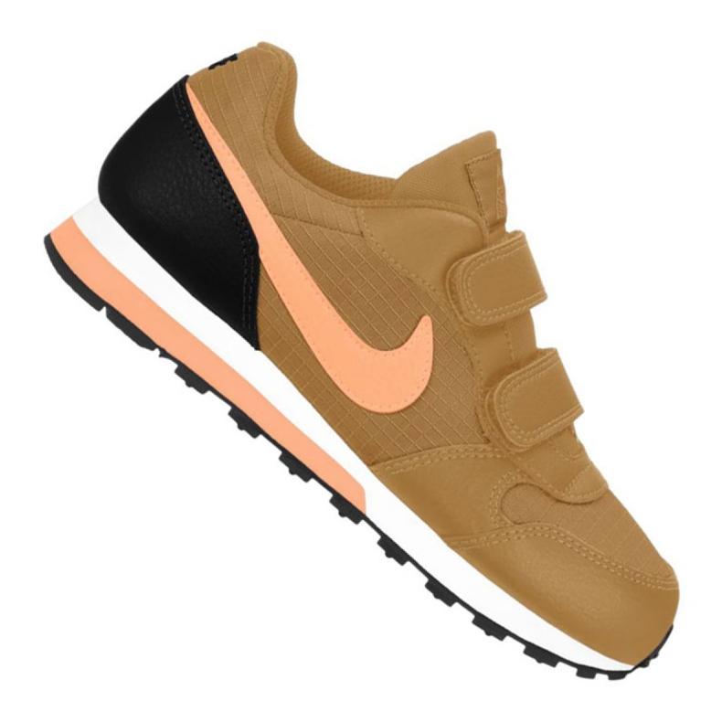 Buty Nike Md Runner 2 Jr 807317-700 brązowe