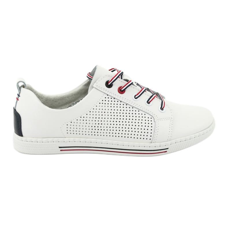 Buty skórzane trampki FILIPPO DP008