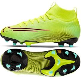 Buty piłkarskie Nike Mercurial Superfly 7 Academy Mds FG/MG Jr BQ5409-703 żółte żółte