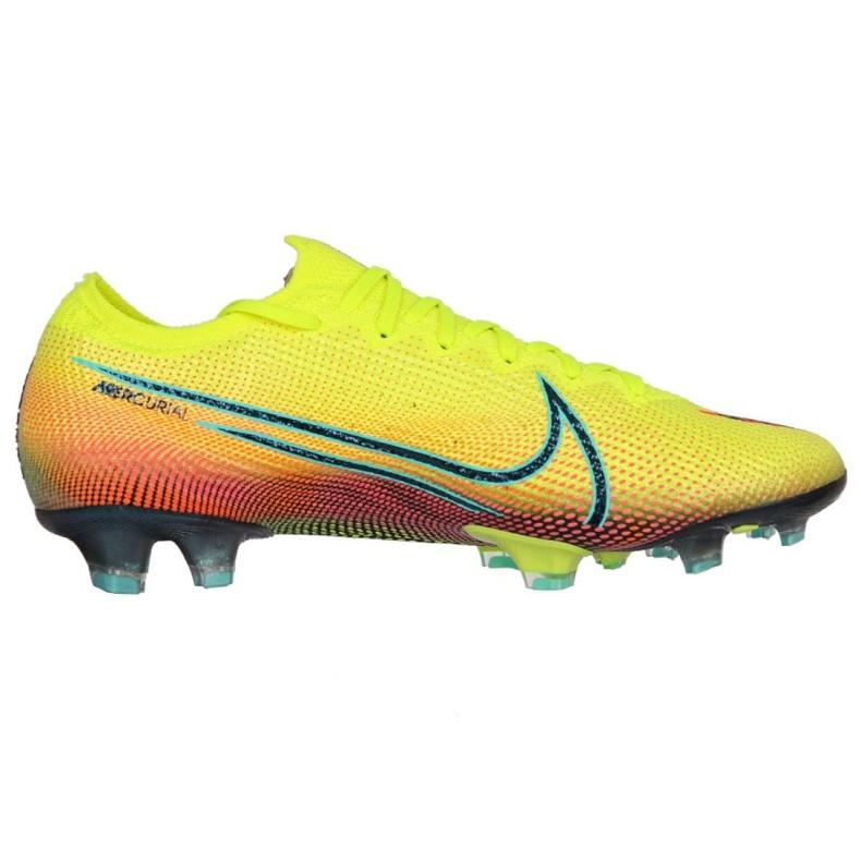 Buty piłkarskie Nike Mercurial Vapor 13 Elite Mds Fg M CJ1295-703 żółte wielokolorowe