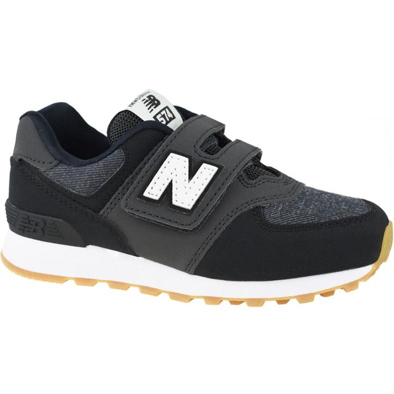 Buty New Balance Jr YV574DMK czarne
