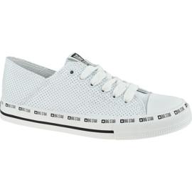 Buty Big Star Shoes W FF274024 białe