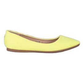 Seastar Neonowe Balerinki żółte