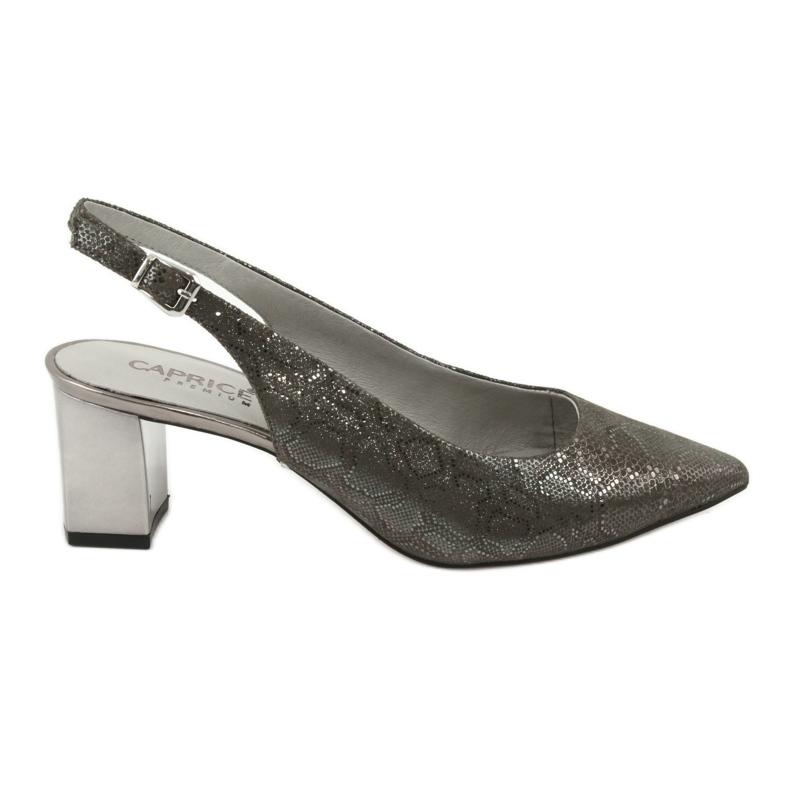 Sandały damskie na słupku Caprice 29605