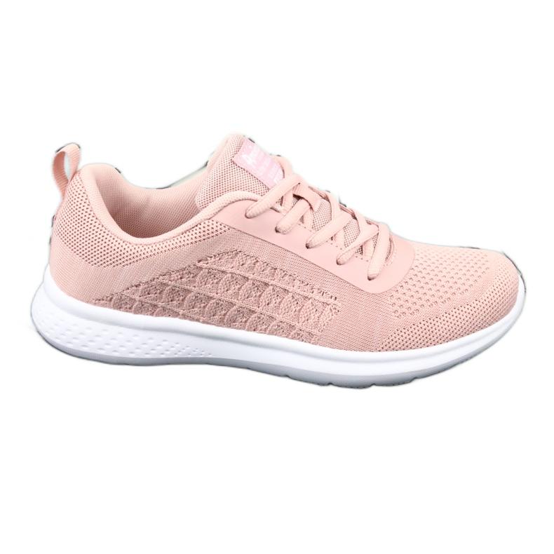Różowe Buty Sportowe American Club HA02
