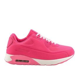 Różowe obuwie sportowe B390-3