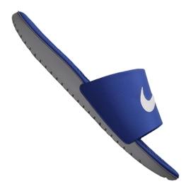 Klapki Nike Kawa Slide Jr 819352-400 niebieskie
