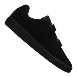 Buty Nike Court Royale Psv Jr 833536-001 czarne