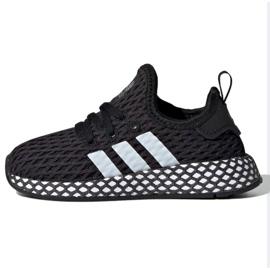 Buty adidas Originals Deerupt Runner Jr CG6864 czarne
