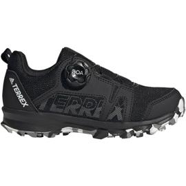 Buty adidas Terrex Agravic Boa K Jr EF3635 czarne