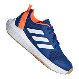 Buty adidas FortaGym K Jr G27202 niebieskie