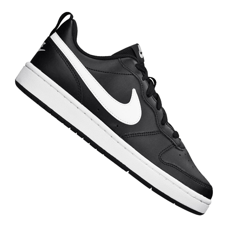 Buty Nike Court Borough Low 2 (GS) Jr BQ5448-002 czarne
