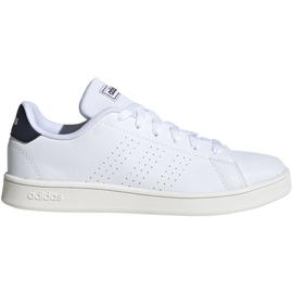Buty adidas Advantage K Jr FW2588 białe