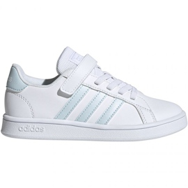 Buty adidas Grand Court C Jr EG6738 białe