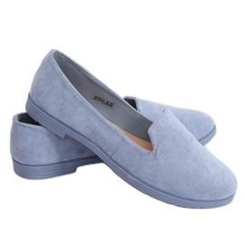 Lordsy damskie niebieskie JX77P L.BLUE