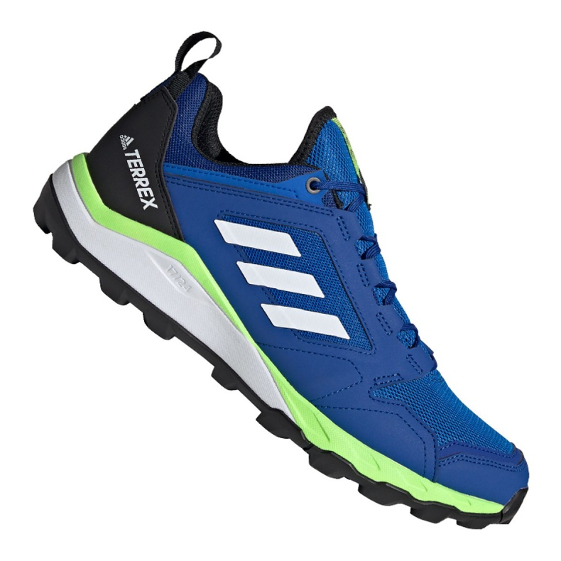 Buty adidas Terrex Agravic Trail M EF6858 niebieskie