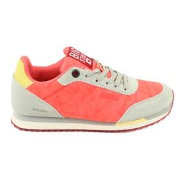 Buty sportowe orange BIG STAR FF 274873 pomarańczowe szare żółte