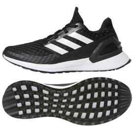 Buty do biegania adidas Rapida Run Jr EF1942 czarne
