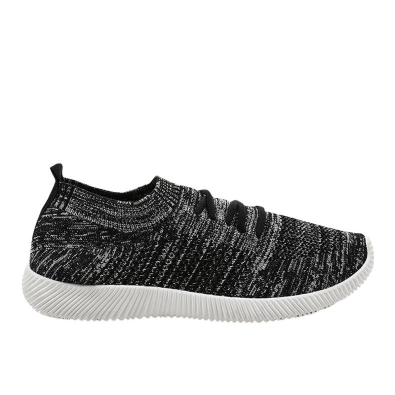 Szare męskie obuwie sportowe LW-1801