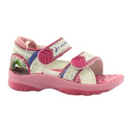 Różowe sandałki buty dziecięce do wody Rider 80608 ['odcienie różu', 'odcienie szarości i srebra', 'biel']