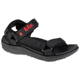 Sandały sportowe damskie Lee Cooper LCW-21-34-0211L czarne