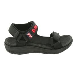 Sandały z wkładką piankową Lee Cooper 19S-TS-043 czarne