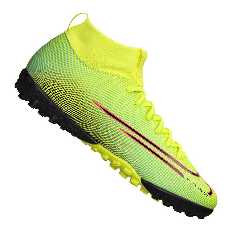 Buty Nike Superfly 7 Academy Mds Tf Jr BQ5407-703 żółte wielokolorowe