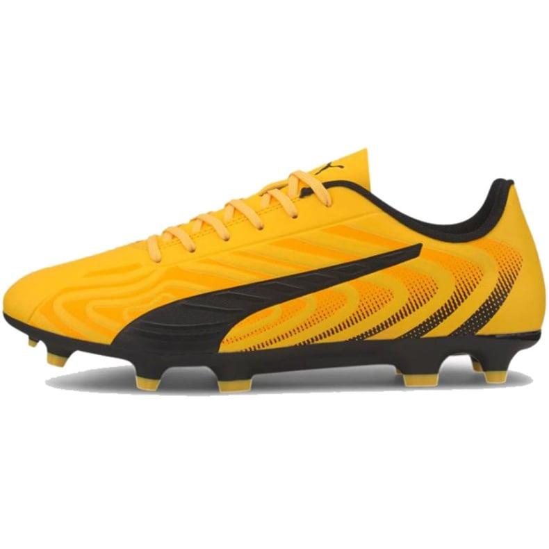 Buty piłkarskie Puma One 20.4 Fg Ag 105831 01 żółte