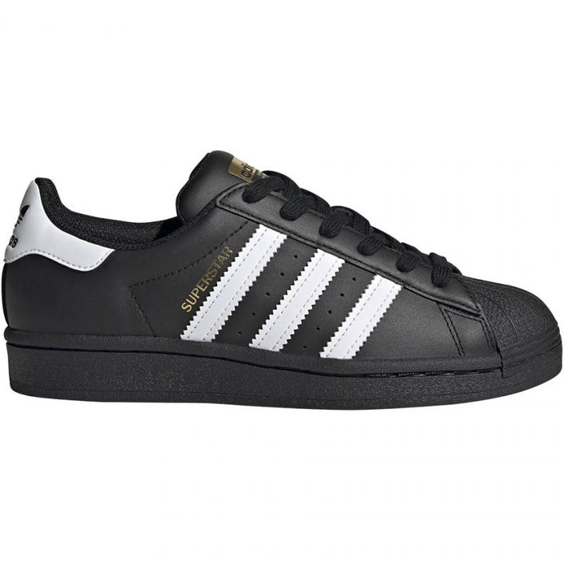 Buty adidas Superstar J Jr EF5398 czarne