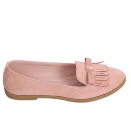 Lordsy damskie różowe 2358 Pink