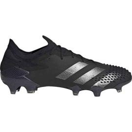 Buty piłkarskie adidas Predator Mutator 20.1 L Fg M EF2205 czarne wielokolorowe