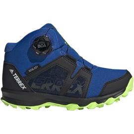 Buty adidas Terrex Boa Mid R.RD Jr EE8470 niebieskie