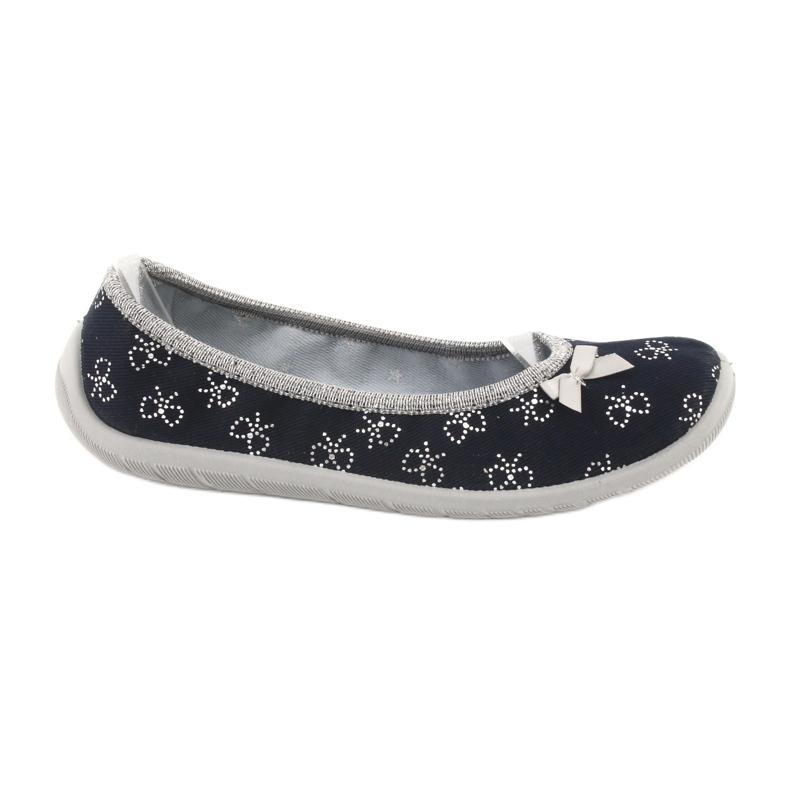 Befado obuwie dziecięce  980Y097 czarne szare