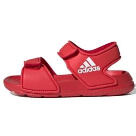 Sandały adidas Altaswim I Jr EG2139 czerwone
