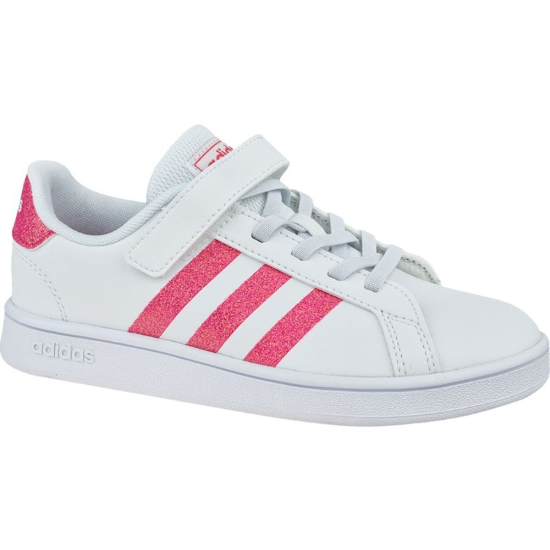 Buty adidas Grand Court K Jr EG3811 białe