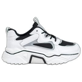 Weide Modne Sneakersy Z Siateczką