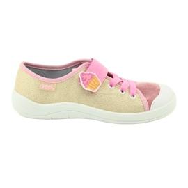 Befado obuwie dziecięce 251Y141 różowe wielokolorowe