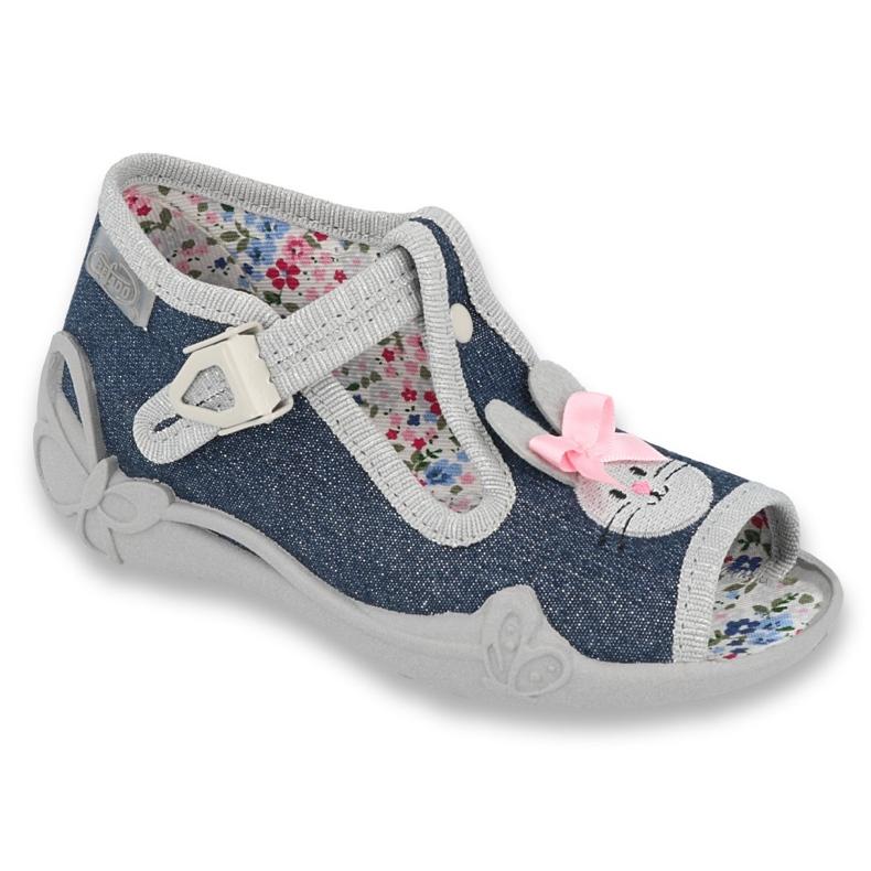 Befado obuwie dziecięce 213P119 szare