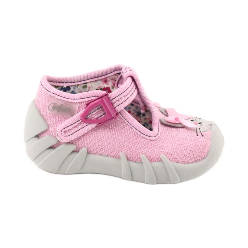 Befado obuwie dziecięce 110P374 różowe