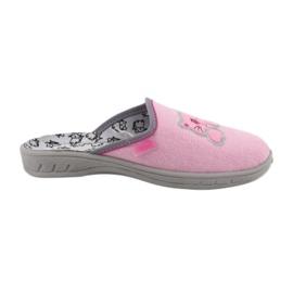 Befado kolorowe obuwie dziecięce 707Y409 różowe